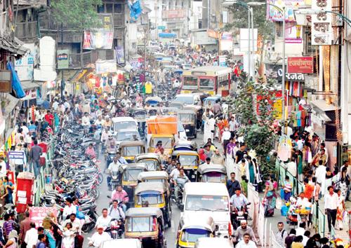 Laxmi Road - Street shopping in Pune