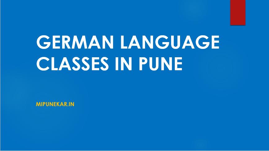 German classes in Pune