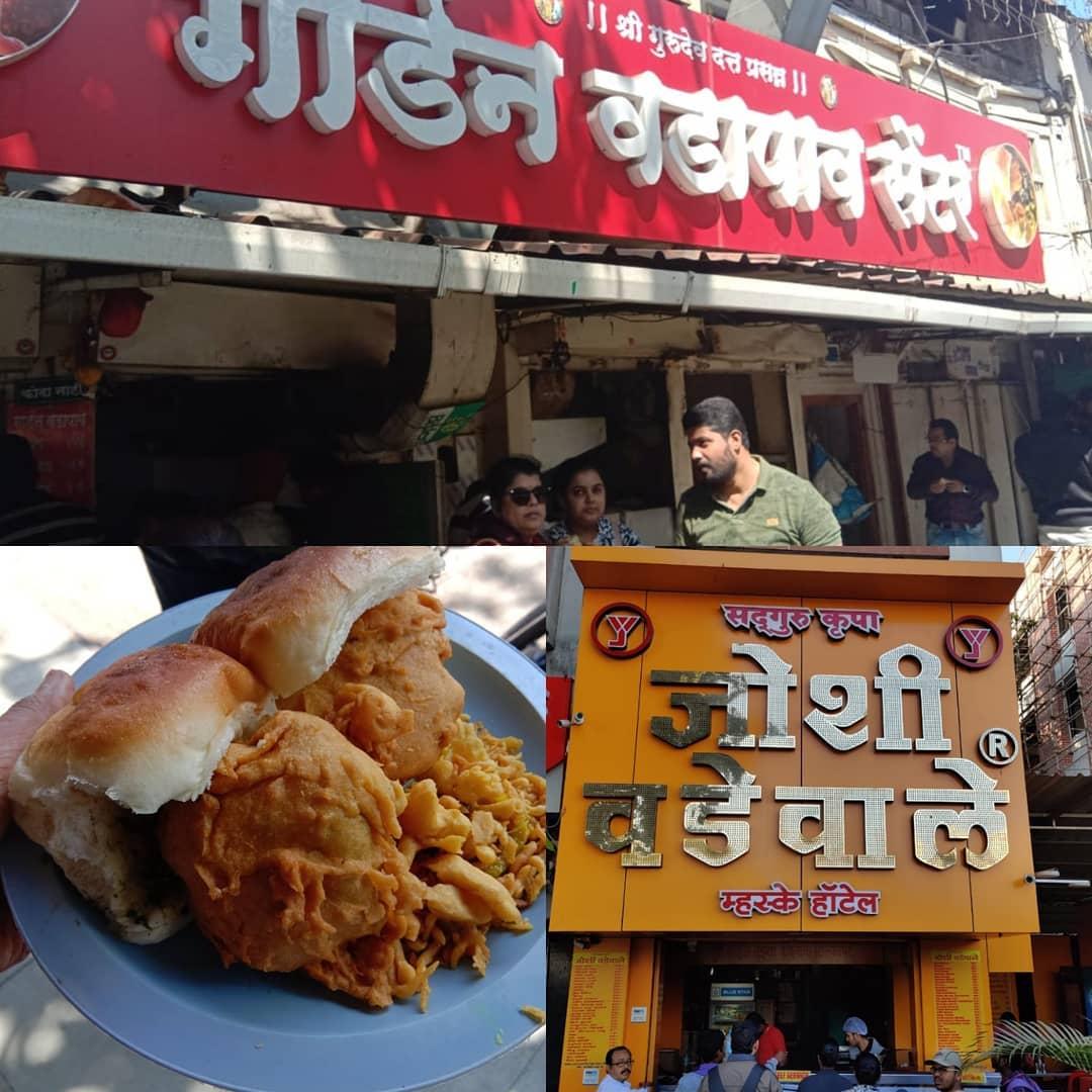 Where to get Best Vadapav in Pune