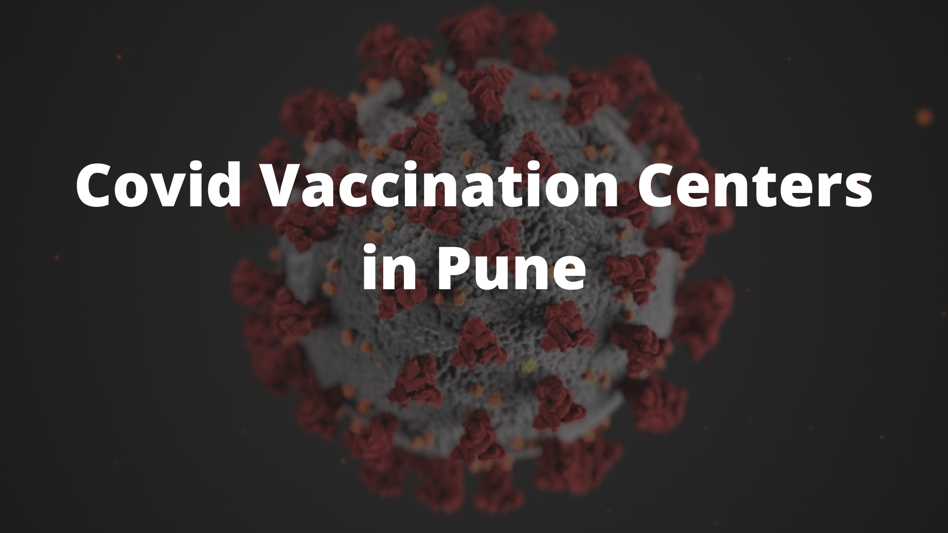 Covid Vaccination Centers in Pune