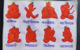 Ashtavinayak Ganapati List - Ashtavinayak